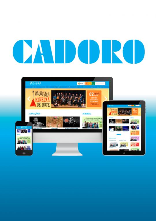 Cadoro Eventos - Site Institucional