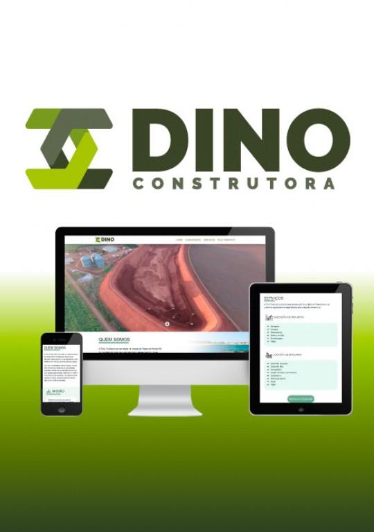 Dino Construtora - Site Institucional