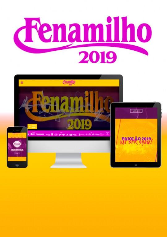 Fenamilho 2019 - Site Institucional