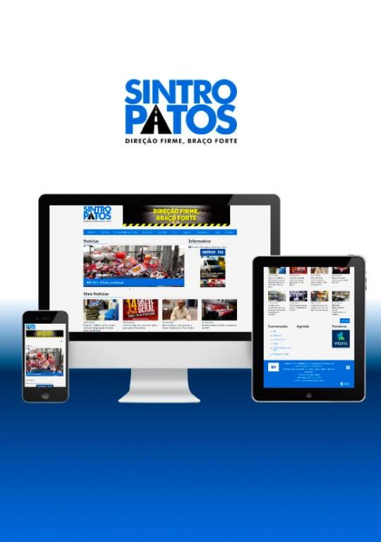 Sintropatos - Site Institucional